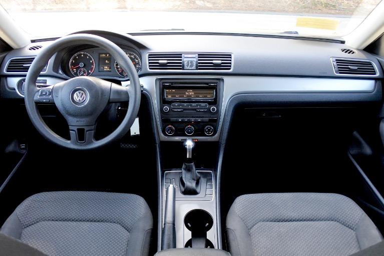Used 2013 Volkswagen Passat S 2.5 PZEV Used 2013 Volkswagen Passat S 2.5 PZEV for sale  at Metro West Motorcars LLC in Shrewsbury MA 8