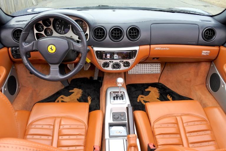 Used 2002 Ferrari 360 2dr Convertible Spider Used 2002 Ferrari 360 2dr Convertible Spider for sale  at Metro West Motorcars LLC in Shrewsbury MA 17