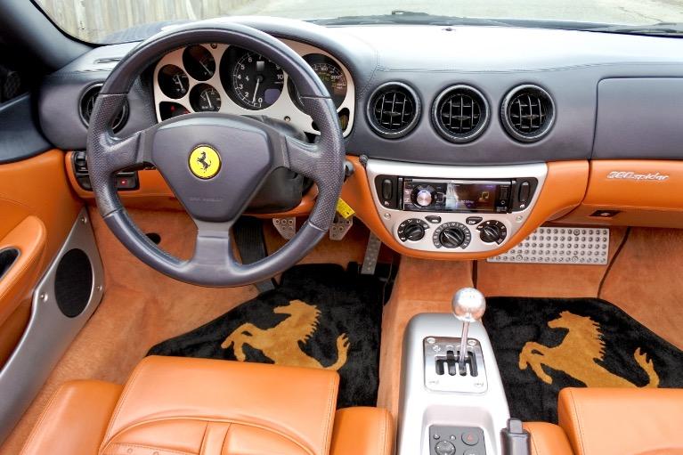 Used 2002 Ferrari 360 2dr Convertible Spider Used 2002 Ferrari 360 2dr Convertible Spider for sale  at Metro West Motorcars LLC in Shrewsbury MA 18