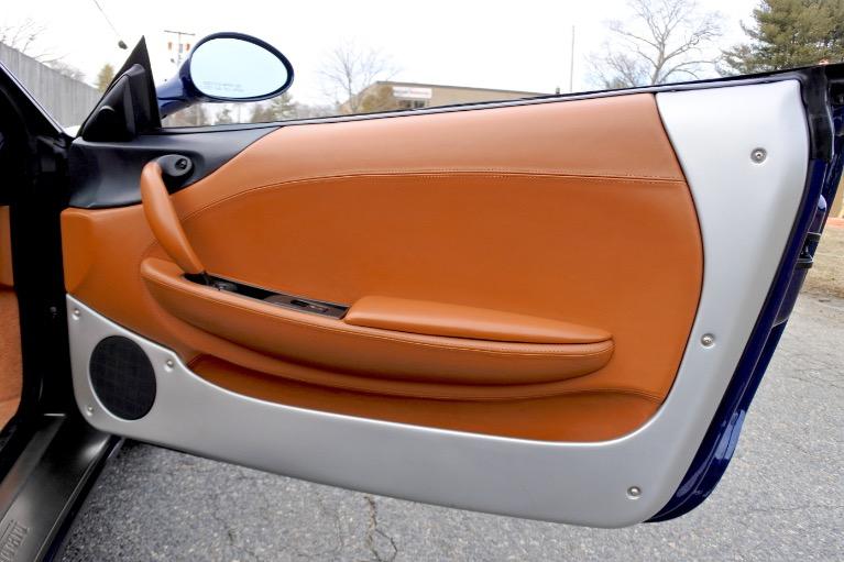 Used 2002 Ferrari 360 2dr Convertible Spider Used 2002 Ferrari 360 2dr Convertible Spider for sale  at Metro West Motorcars LLC in Shrewsbury MA 25
