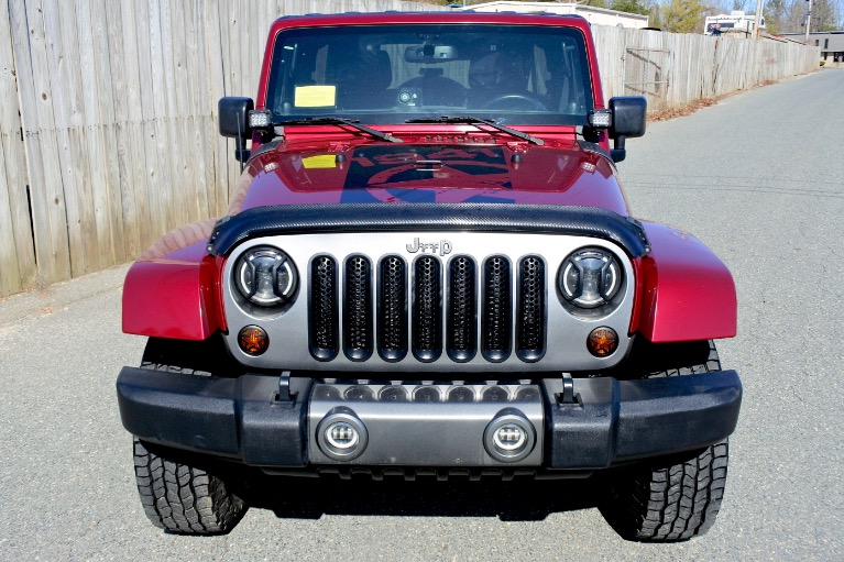 Used 2013 Jeep Wrangler Unlimited Freedom Edition 4WD Used 2013 Jeep Wrangler Unlimited Freedom Edition 4WD for sale  at Metro West Motorcars LLC in Shrewsbury MA 8