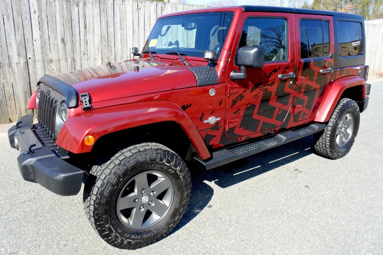 Used 2013 Jeep Wrangler Unlimited Freedom Edition 4WD Used 2013 Jeep Wrangler Unlimited Freedom Edition 4WD for sale  at Metro West Motorcars LLC in Shrewsbury MA 1
