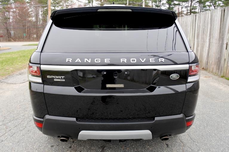 Used 2015 Land Rover Range Rover Sport HSE Used 2015 Land Rover Range Rover Sport HSE for sale  at Metro West Motorcars LLC in Shrewsbury MA 4