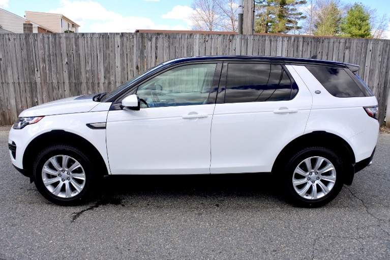 Used 2016 Land Rover Discovery Sport SE AWD Used 2016 Land Rover Discovery Sport SE AWD for sale  at Metro West Motorcars LLC in Shrewsbury MA 2