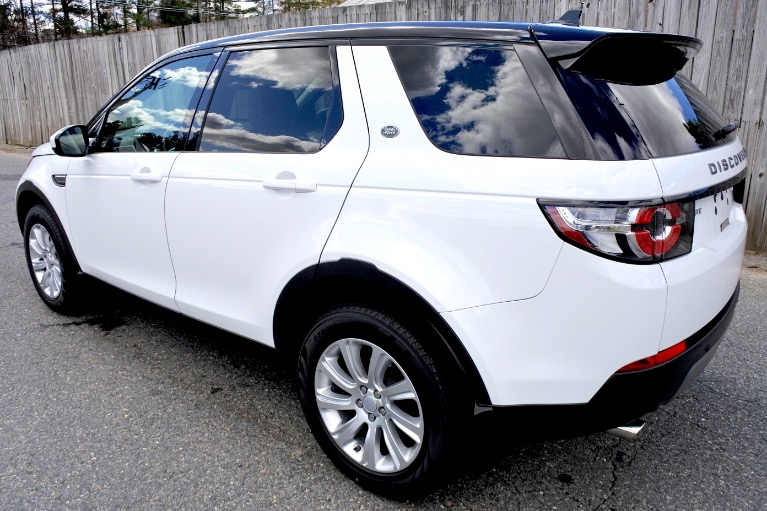 Used 2016 Land Rover Discovery Sport SE AWD Used 2016 Land Rover Discovery Sport SE AWD for sale  at Metro West Motorcars LLC in Shrewsbury MA 3