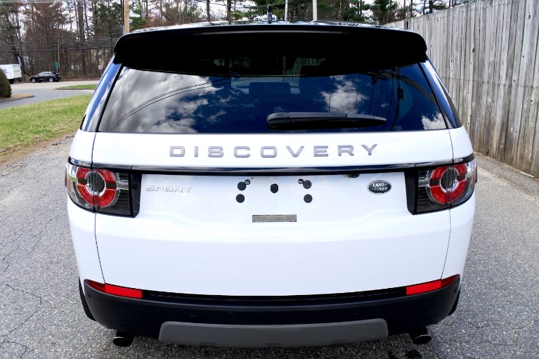 Used 2016 Land Rover Discovery Sport SE AWD Used 2016 Land Rover Discovery Sport SE AWD for sale  at Metro West Motorcars LLC in Shrewsbury MA 4