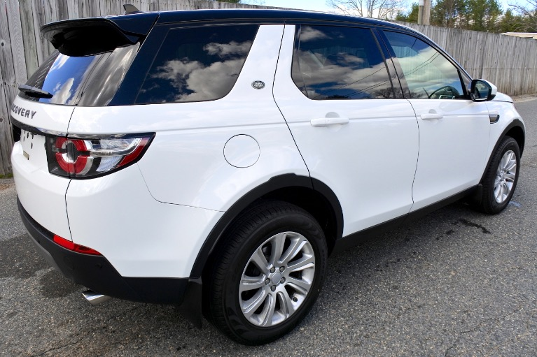 Used 2016 Land Rover Discovery Sport SE AWD Used 2016 Land Rover Discovery Sport SE AWD for sale  at Metro West Motorcars LLC in Shrewsbury MA 5