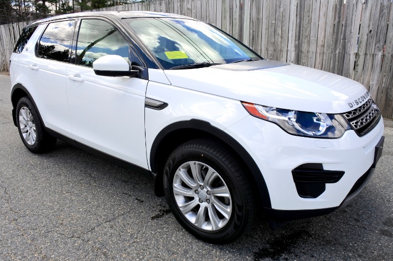 Used 2016 Land Rover Discovery Sport SE AWD Used 2016 Land Rover Discovery Sport SE AWD for sale  at Metro West Motorcars LLC in Shrewsbury MA 7
