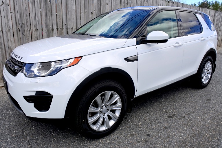 Used 2016 Land Rover Discovery Sport SE AWD Used 2016 Land Rover Discovery Sport SE AWD for sale  at Metro West Motorcars LLC in Shrewsbury MA 1