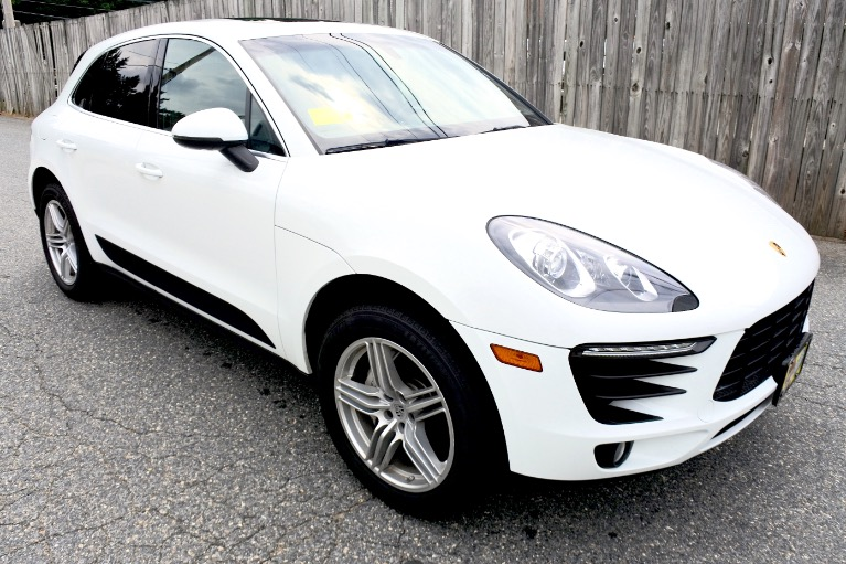 Used 2015 Porsche Macan S AWD Used 2015 Porsche Macan S AWD for sale  at Metro West Motorcars LLC in Shrewsbury MA 7