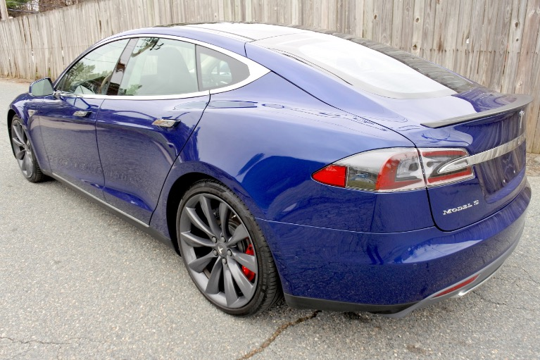 Used 2015 Tesla Model s AWD P85D Used 2015 Tesla Model s AWD P85D for sale  at Metro West Motorcars LLC in Shrewsbury MA 3