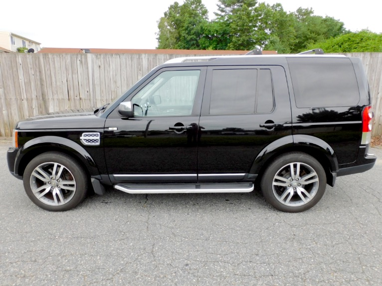 Used 2012 Land Rover Lr4 HSE LUX  Limited Edition Used 2012 Land Rover Lr4 HSE LUX  Limited Edition for sale  at Metro West Motorcars LLC in Shrewsbury MA 2