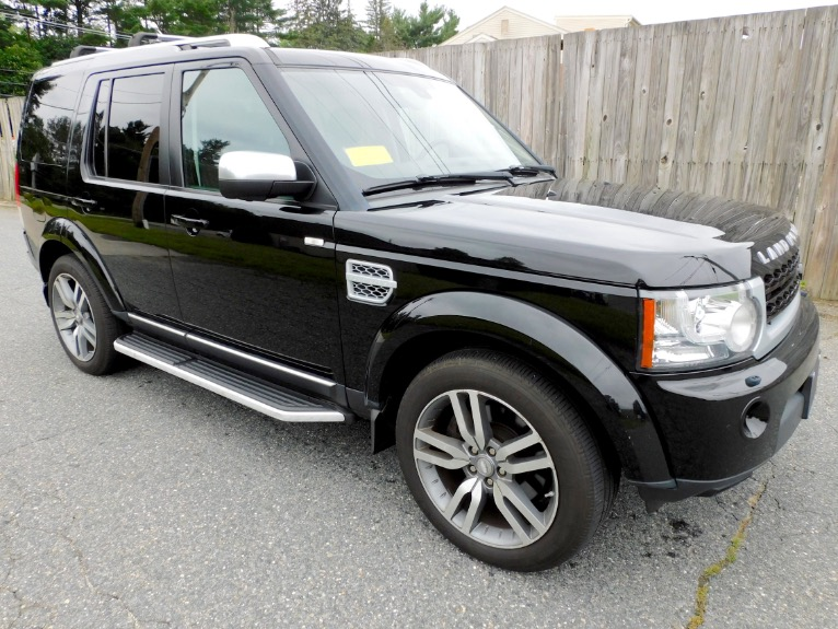 Used 2012 Land Rover Lr4 HSE LUX  Limited Edition Used 2012 Land Rover Lr4 HSE LUX  Limited Edition for sale  at Metro West Motorcars LLC in Shrewsbury MA 7