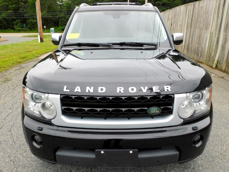 Used 2012 Land Rover Lr4 HSE LUX  Limited Edition Used 2012 Land Rover Lr4 HSE LUX  Limited Edition for sale  at Metro West Motorcars LLC in Shrewsbury MA 8