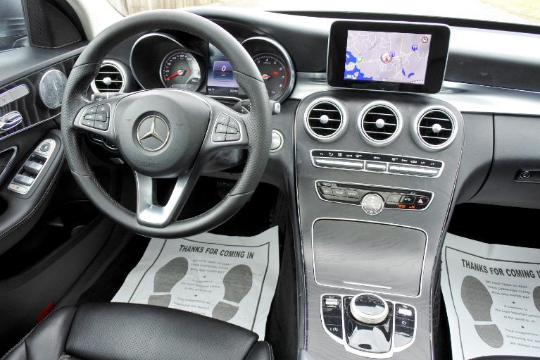 Used 2017 Mercedes-Benz C-class C300 4MATIC Used 2017 Mercedes-Benz C-class C300 4MATIC for sale  at Metro West Motorcars LLC in Shrewsbury MA 10