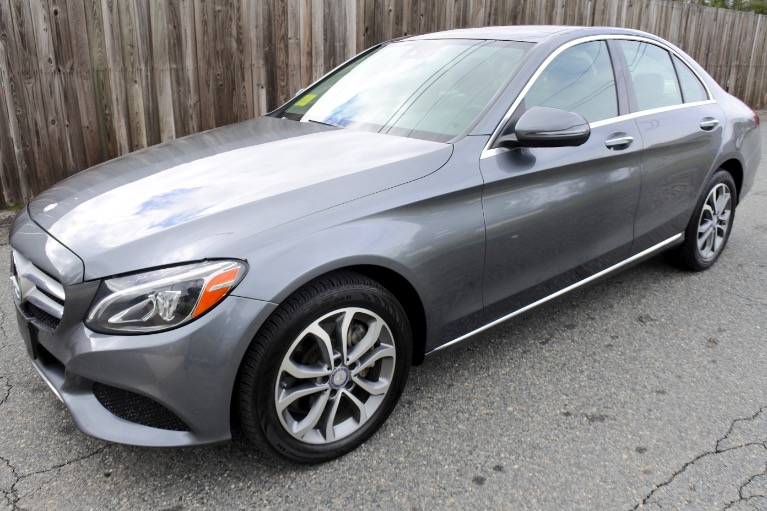 Used Used 2017 Mercedes-Benz C-class C300 4MATIC for sale $19,800 at Metro West Motorcars LLC in Shrewsbury MA