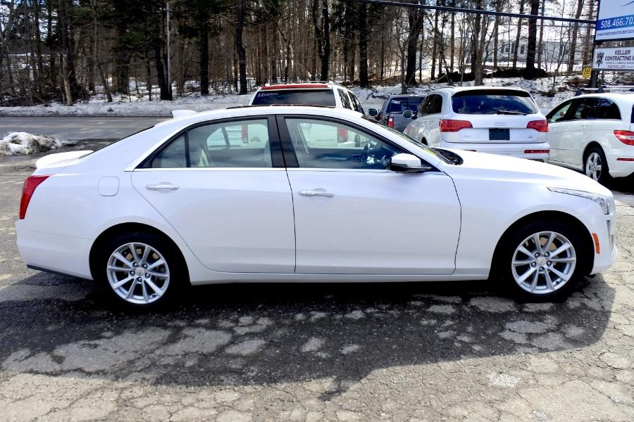 Used 2017 Cadillac CTS Sedan 4dr Sdn 2.0L Turbo AWD Used 2017 Cadillac CTS Sedan 4dr Sdn 2.0L Turbo AWD for sale  at Metro West Motorcars LLC in Shrewsbury MA 6