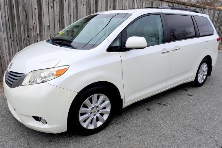Used Used 2012 Toyota Sienna Limited AWD for sale $14,800 at Metro West Motorcars LLC in Shrewsbury MA