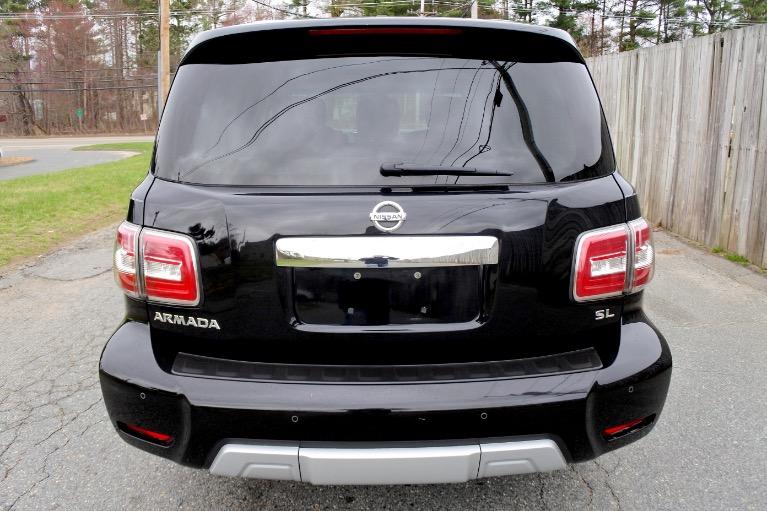 Used 2017 Nissan Armada 4x4 SL Used 2017 Nissan Armada 4x4 SL for sale  at Metro West Motorcars LLC in Shrewsbury MA 4
