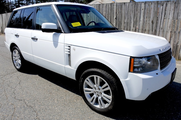 Used 2011 Land Rover Range Rover HSE LUX Used 2011 Land Rover Range Rover HSE LUX for sale  at Metro West Motorcars LLC in Shrewsbury MA 7