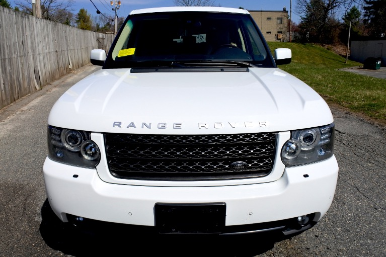 Used 2011 Land Rover Range Rover HSE LUX Used 2011 Land Rover Range Rover HSE LUX for sale  at Metro West Motorcars LLC in Shrewsbury MA 8
