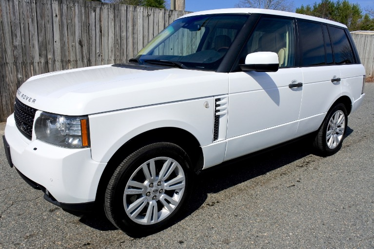 Used Used 2011 Land Rover Range Rover HSE LUX for sale $19,800 at Metro West Motorcars LLC in Shrewsbury MA