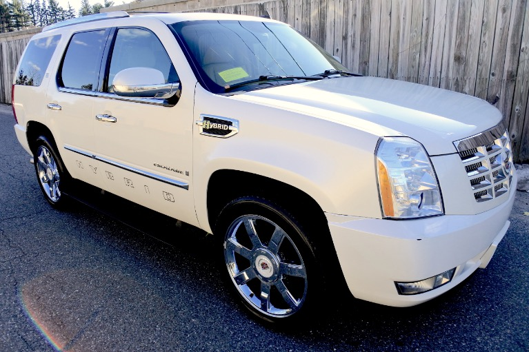 Used 2009 Cadillac Escalade Hybrid 4WD Used 2009 Cadillac Escalade Hybrid 4WD for sale  at Metro West Motorcars LLC in Shrewsbury MA 7