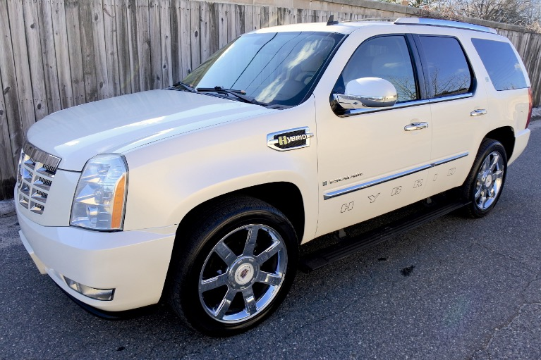 Used 2009 Cadillac Escalade Hybrid 4WD Used 2009 Cadillac Escalade Hybrid 4WD for sale  at Metro West Motorcars LLC in Shrewsbury MA 1