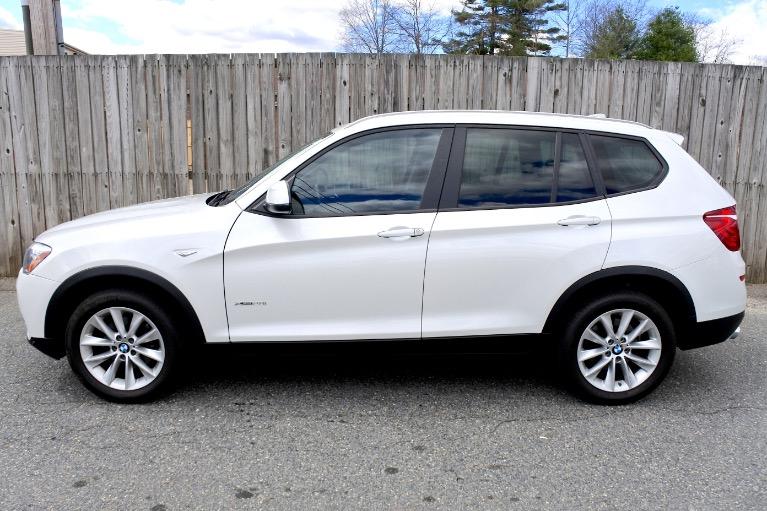 Used 2017 BMW X3 xDrive28i Sports Activity Vehicle Used 2017 BMW X3 xDrive28i Sports Activity Vehicle for sale  at Metro West Motorcars LLC in Shrewsbury MA 2