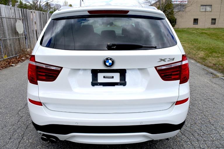 Used 2017 BMW X3 xDrive28i Sports Activity Vehicle Used 2017 BMW X3 xDrive28i Sports Activity Vehicle for sale  at Metro West Motorcars LLC in Shrewsbury MA 4