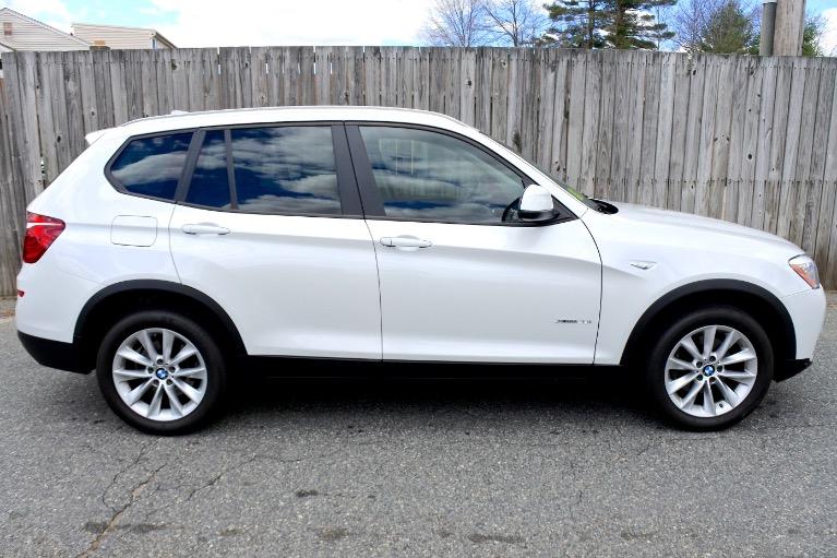 Used 2017 BMW X3 xDrive28i Sports Activity Vehicle Used 2017 BMW X3 xDrive28i Sports Activity Vehicle for sale  at Metro West Motorcars LLC in Shrewsbury MA 6