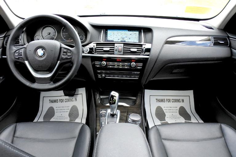 Used 2017 BMW X3 xDrive28i Sports Activity Vehicle Used 2017 BMW X3 xDrive28i Sports Activity Vehicle for sale  at Metro West Motorcars LLC in Shrewsbury MA 9