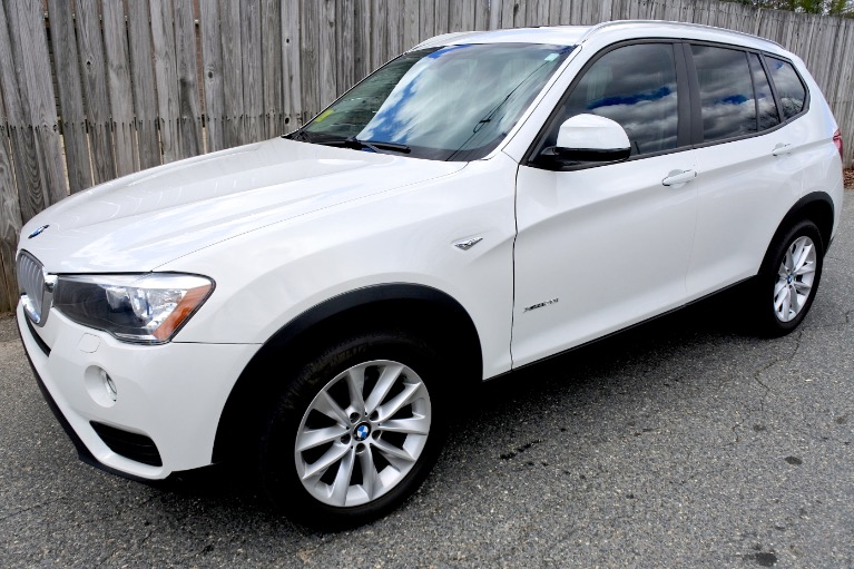 Used Used 2017 BMW X3 xDrive28i Sports Activity Vehicle for sale $21,800 at Metro West Motorcars LLC in Shrewsbury MA