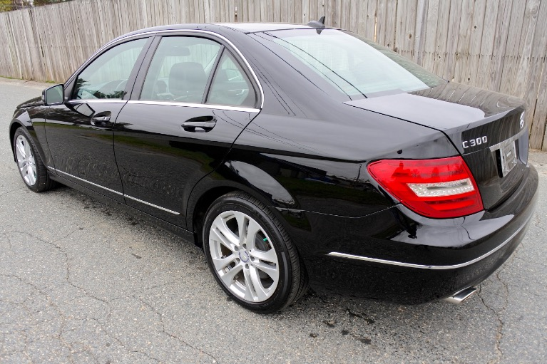 Used 2013 Mercedes-Benz C-class 4dr Sdn C300 Sport 4MATIC Used 2013 Mercedes-Benz C-class 4dr Sdn C300 Sport 4MATIC for sale  at Metro West Motorcars LLC in Shrewsbury MA 3