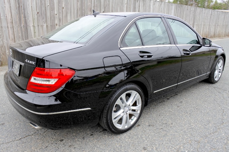 Used 2013 Mercedes-Benz C-class 4dr Sdn C300 Sport 4MATIC Used 2013 Mercedes-Benz C-class 4dr Sdn C300 Sport 4MATIC for sale  at Metro West Motorcars LLC in Shrewsbury MA 5