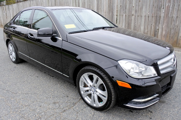Used 2013 Mercedes-Benz C-class 4dr Sdn C300 Sport 4MATIC Used 2013 Mercedes-Benz C-class 4dr Sdn C300 Sport 4MATIC for sale  at Metro West Motorcars LLC in Shrewsbury MA 7