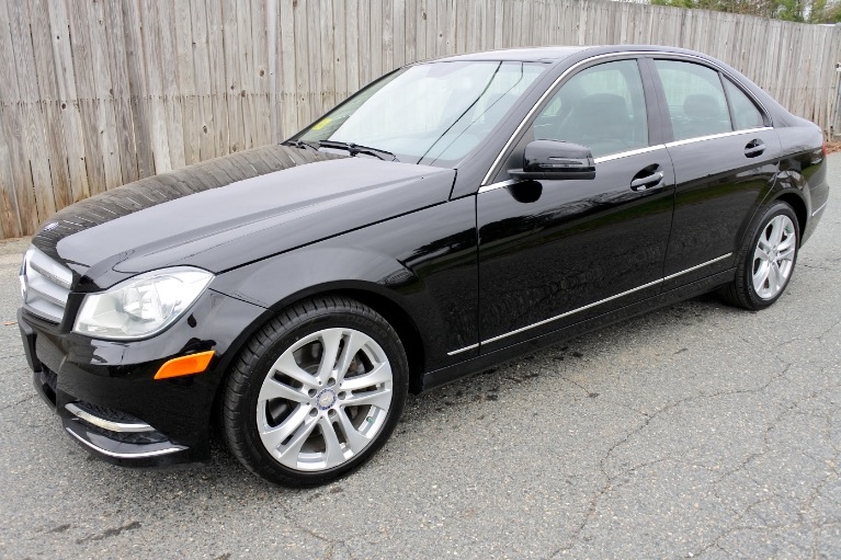 Used Used 2013 Mercedes-Benz C-class 4dr Sdn C300 Sport 4MATIC for sale $11,800 at Metro West Motorcars LLC in Shrewsbury MA