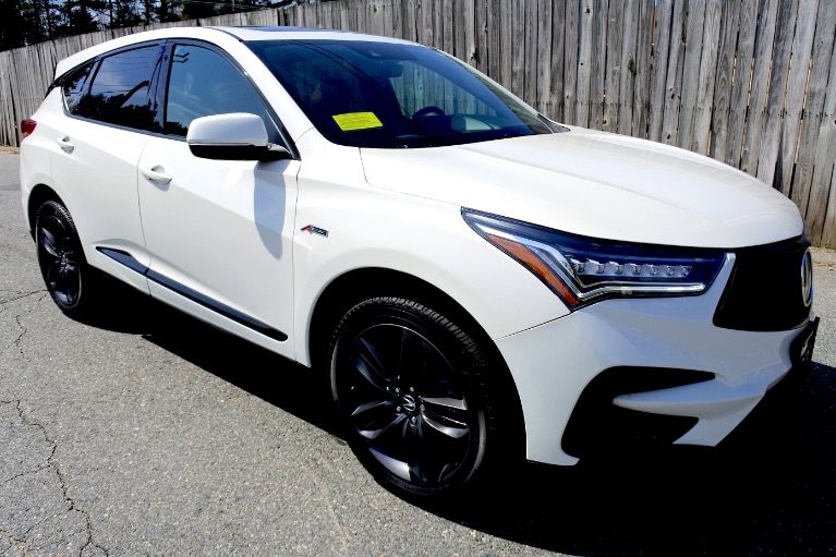 Used 2019 Acura Rdx AWD w/A-Spec Pkg Used 2019 Acura Rdx AWD w/A-Spec Pkg for sale  at Metro West Motorcars LLC in Shrewsbury MA 7