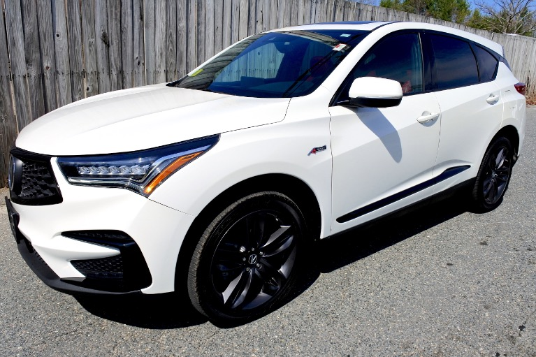 Used Used 2019 Acura Rdx AWD w/A-Spec Pkg for sale $37,800 at Metro West Motorcars LLC in Shrewsbury MA