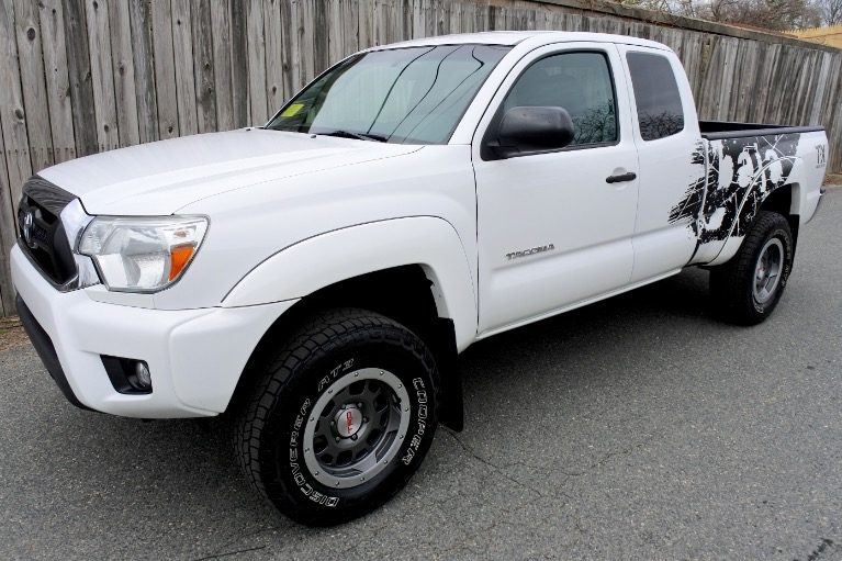 Used Used 2014 Toyota Tacoma TRD TX Baja V6 4WD for sale $28,800 at Metro West Motorcars LLC in Shrewsbury MA