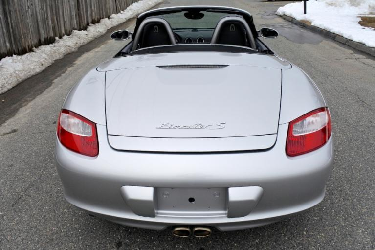 Used 2007 Porsche Boxster S Roadster Used 2007 Porsche Boxster S Roadster for sale  at Metro West Motorcars LLC in Shrewsbury MA 4