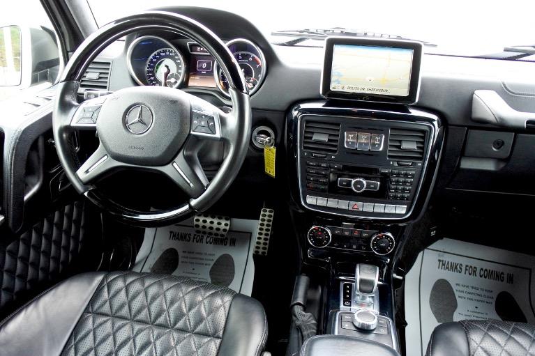 Used 2014 Mercedes-Benz G-class G63 AMG 4MATIC Used 2014 Mercedes-Benz G-class G63 AMG 4MATIC for sale  at Metro West Motorcars LLC in Shrewsbury MA 10