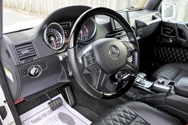 Used 2014 Mercedes-Benz G-class G63 AMG 4MATIC Used 2014 Mercedes-Benz G-class G63 AMG 4MATIC for sale  at Metro West Motorcars LLC in Shrewsbury MA 13