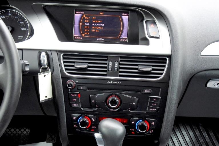 Used 2012 Audi A4 2.0T Premium Plus Quattro Used 2012 Audi A4 2.0T Premium Plus Quattro for sale  at Metro West Motorcars LLC in Shrewsbury MA 11