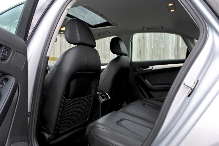 Used 2012 Audi A4 2.0T Premium Plus Quattro Used 2012 Audi A4 2.0T Premium Plus Quattro for sale  at Metro West Motorcars LLC in Shrewsbury MA 15