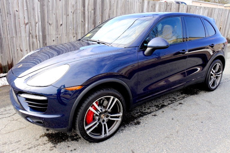 Used 2012 Porsche Cayenne Turbo AWD Used 2012 Porsche Cayenne Turbo AWD for sale  at Metro West Motorcars LLC in Shrewsbury MA 1