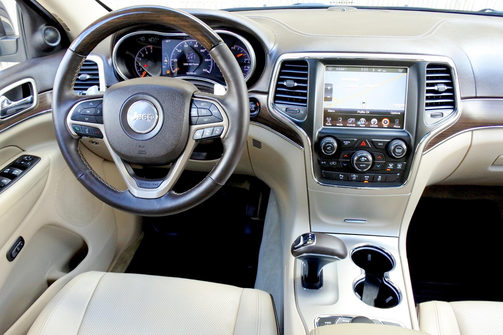 Used 2014 Jeep Grand Cherokee Overland 4WD Used 2014 Jeep Grand Cherokee Overland 4WD for sale  at Metro West Motorcars LLC in Shrewsbury MA 10