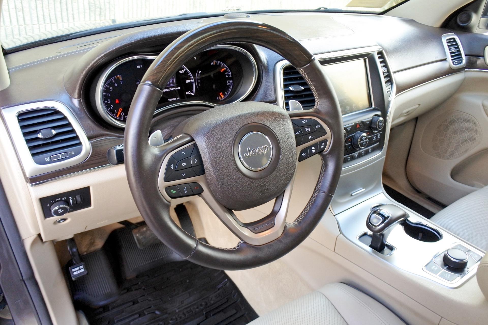 Used 2014 Jeep Grand Cherokee Overland 4WD Used 2014 Jeep Grand Cherokee Overland 4WD for sale  at Metro West Motorcars LLC in Shrewsbury MA 13