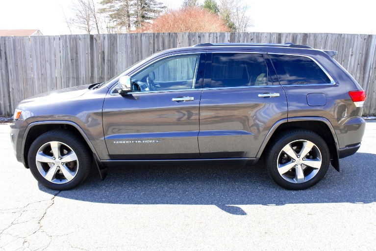 Used 2014 Jeep Grand Cherokee Overland 4WD Used 2014 Jeep Grand Cherokee Overland 4WD for sale  at Metro West Motorcars LLC in Shrewsbury MA 2