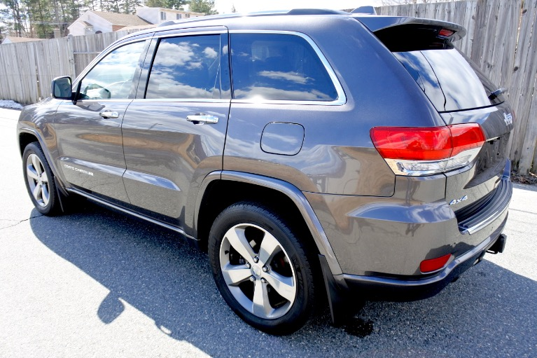Used 2014 Jeep Grand Cherokee Overland 4WD Used 2014 Jeep Grand Cherokee Overland 4WD for sale  at Metro West Motorcars LLC in Shrewsbury MA 3
